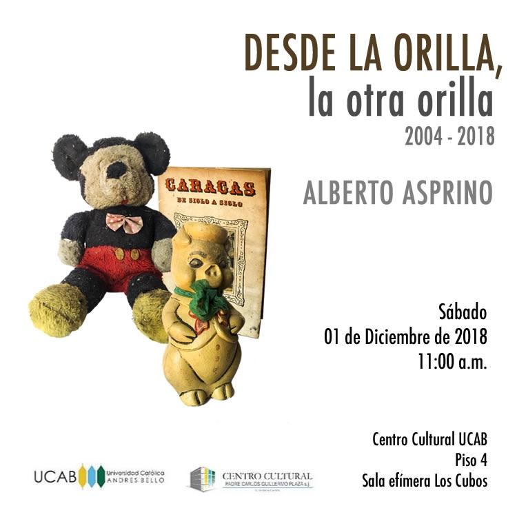 Alberto Asprino: desde la orilla, la otra orilla