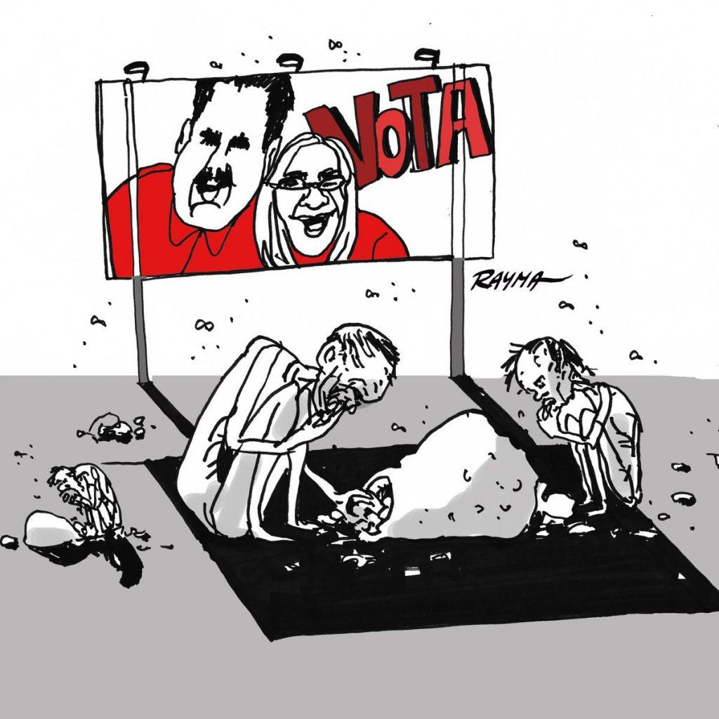 La caricatura como arma política