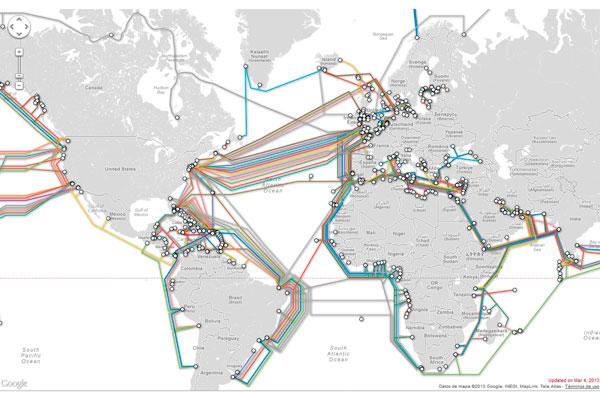 Los cables submarinos: ¿un bien común mundial?