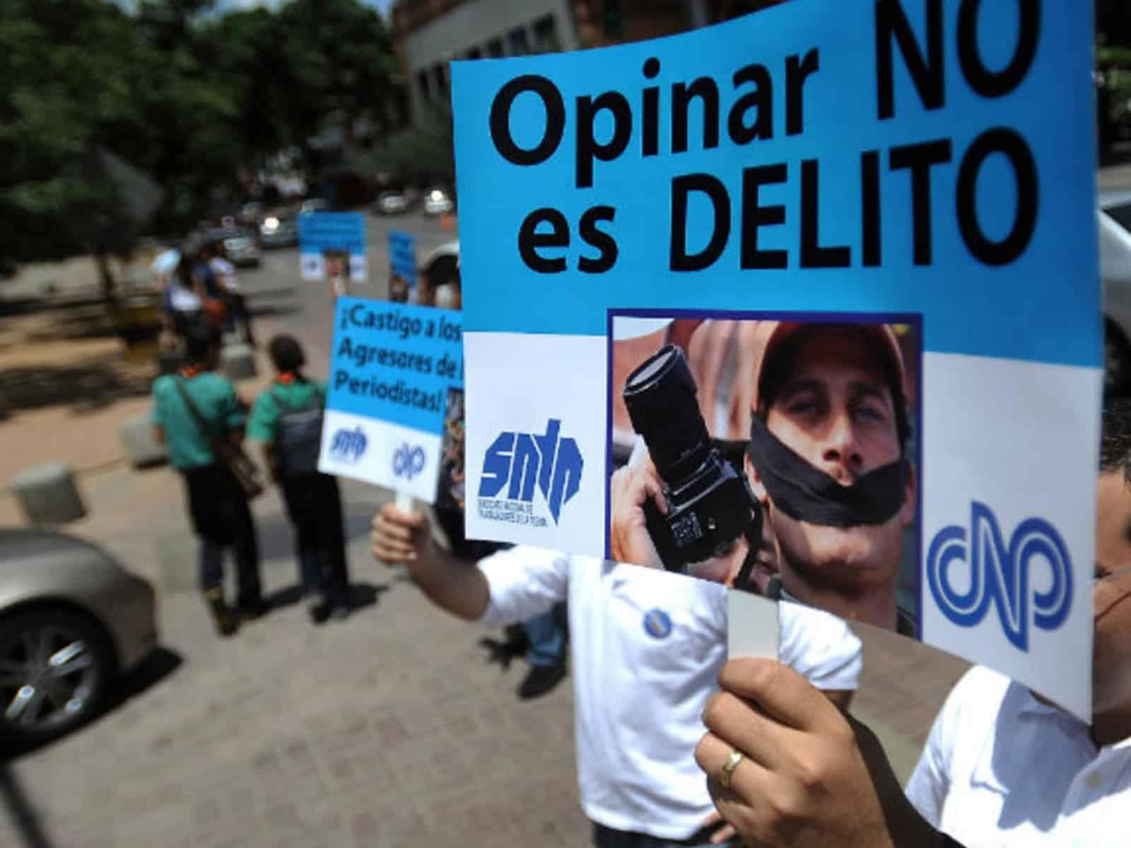 La situación del periodismo en Venezuela (2015 a 2019)